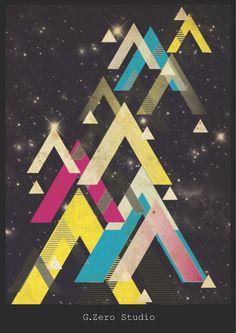 Retro_Space_poster_by_Gzerostudio.jpg 900×1,273 pixels