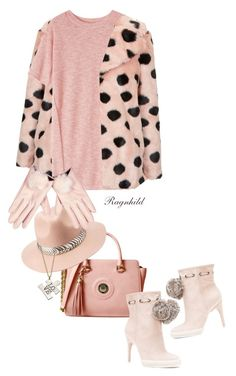 """For The Love Of Gloves"" by ragnh-mjos ❤ liked on Polyvore featuring Topshop, Toast, Charlotte Russe, River Island, BCBGMAXAZRIA, Miriam Merenfeld, contest, outfit, Pink and gloves"