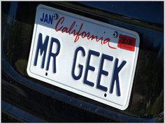 Placas de Carro Geek!