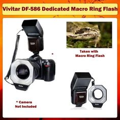 Vivitar Dedicated Digital Macro Ring Flash (for Nikon Cameras) $107.00