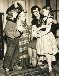 Throwback Thursday: Trick-or-Treat for UNICEF. 63 years of giving.