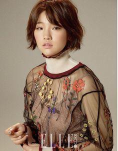 Park So Dam - Elle Magazine September Issue Ahn Jae Hyun, Short Bob Styles, Long Hair Styles, Korean Actresses, Korean Actors, Asian Actors, Korean Celebrities, Celebs, Princess Weiyoung