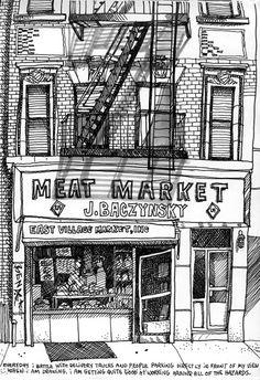Tommy Kane Illustration - what amazing detail