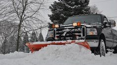 We use professional equipment that is needed to remove snow, efficiently. Just call us whenever you need our help whether residential or commercial snow removal. Client satisfaction is our first priority. Snow Removal Equipment, Snow Removal Services, Commercial, Trucks, Good Things, Truck