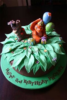 Land Before Time Cake — Children's Birthday Cakes