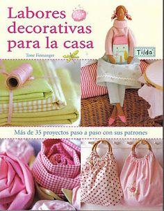 REVISTAS DE MANUALIDADES PARA DESCARGAR GRATIS: Labores decorativas para la casa - Revista tilda en español