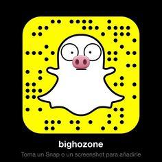Snapchat al canto. Otra red social más y me explota la cabeza. #snapchat #bighozone #yavaleporfavor