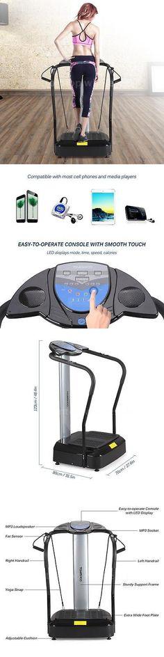Vibration Platform Machines 171593: 2000W Full Body Vibration Machine Exercise Plate Platform Massager Music C1b0 -> BUY IT NOW ONLY: $163.99 on eBay!