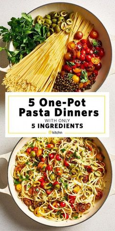 Need recipes and ideas for healthy one pot meals? These simple, fast, and easy d… Need recipes and ideas for healthy one pot meals? These simple, fast, and easy dinners cook on the stovetop in one pan. We have meals… Continue Reading → Healthy One Pot Meals, Healthy Dinner Recipes, Vegetarian One Pot Meals, Easy One Pot Meals, Healthy Pasta Dishes, Vegetarian Spaghetti, Healthy Pastas, Meals To Cook, Pasta Recipes For Dinner