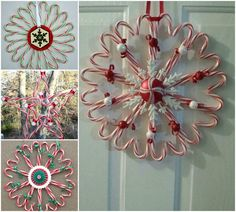 If you are thinking about making a wreath and need some Christmas wreath ideas, then you might want to try really easy candy cane wreaths. It's inexpensive and simple to do. They look fantastic! They're perfect for the holiday season and make wonderful small gifts. Click HERE for the Tutorial …
