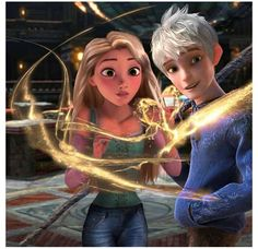 I love jackunzel.... it reminds me of my relationship. I'm a natural, long haired blonde who is shy and creative, and my boyfriend is a natural brunette (jack used to be) and fun and outgoing....