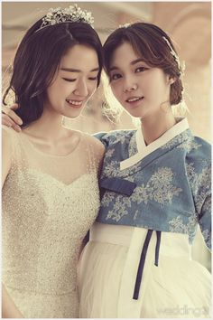 Suggestions For A Wedding Registry Korean Traditional Clothes, Traditional Fashion, Traditional Dresses, Japanese Fashion, Asian Fashion, Modern Hanbok, Korean Wedding, Korean Dress, Cute Korean