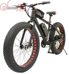 2015 36V 500W Bafang Motor Snow eBike Fat Tire Electric Bicycle