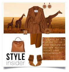 """Style Insider"" by shoecraycray ❤ liked on Polyvore featuring TIBI, MaxMara, Fendi, Chanel, Carla Amorim, Sevan Biçakçi and Aquazzura"