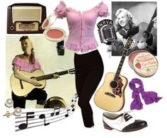 """Janis Martin, The Female Elvis!"" by howdysister on Polyvore"