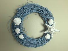 Seashell wreath. I love making wreaths.  https://www.facebook.com/photo.php?fbid=10154250849808496