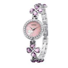 New Kimio luxury Women's Fashion quartz watch bracelet watch Four-leaf clover bracelet Ladies wristwatches with original box