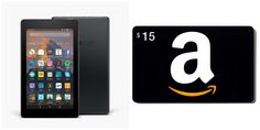 With Love for Books: Kindle Fire and Amazon Gift Card Giveaway