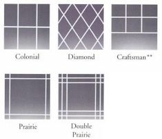 Window Grille Inserts The Pattern Exceptional Windows