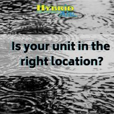 Be Sure Your Hvac Unit Is Anchored And Installed To Prevent Water From Pooling Around It And That Hvac Services Heating And Air Conditioning Heating Services
