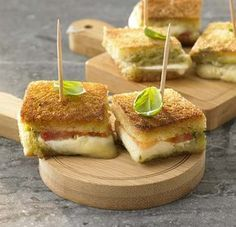 Italiaanse mini-croques - Colruyt Culinair !
