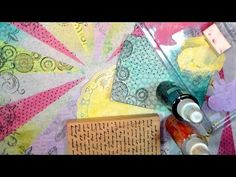 Artsy Fun With Deli Paper! | Thefrugalcrafter's Weblog. Deli paper appears to be pH neutral. myb