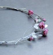 NÁHRDELNÍK RŮŽOVÁ ROMANCE Wreaths, Bracelets, Silver, Jewelry, Jewlery, Door Wreaths, Jewerly, Schmuck, Jewels