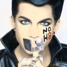 Adam Lambert No H8 Campaign Photo Shoot