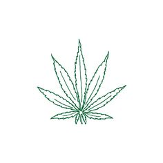 cartoon marijuana leaf | Picsicio ❤ liked on Polyvore