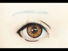 Tutorial : Anime Eye Makeup 157 • Isana Yashiro - YouTube