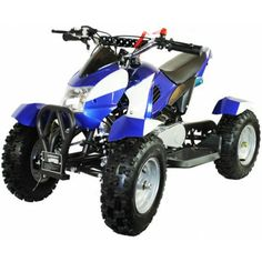 49cc Zipper Petrol Micro ATV Quad Bike - Blue - http://www.nitrotek.co.uk/241.htmlhttp://www.nitrotek.co.uk/241.html