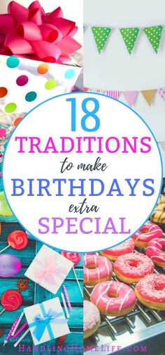 Special birthday traditions for kids. Unique ways to celebrate kid's birthday WITHOUT a party! Birthday Traditions, Birthday Celebration, Birthday Party Themes, Family Traditions, Party Themes For Kids, Party Ideas, Holiday Traditions, Gift Ideas, Birthday Gifts For Kids