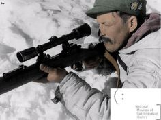 German gebirgsjager sniper