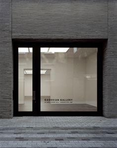 Caruso St John's Gagosian Grosvenor Hill gallery opens in London