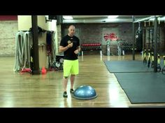 My Favorite BOSU Exercises - Athletic Stance, Eyes Closed