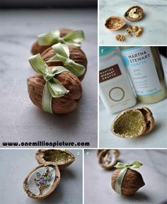 Idea for packing small presents
