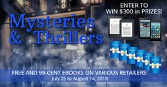 Check out these free and discounted books! Plus, enter to win one of 2 ereaders and 6 gift cards! You don't have to buy a book to enter the giveaway, but we'd love you to check out the books and get the ones that interest you to thank these authors for offering such a huge giveaway. Thank you!