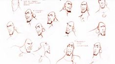 Living Lines Library: Sinbad: Legend of the Seven Seas (2003) - Character Design