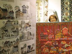 Houses quilts. Quiltmania. maker?