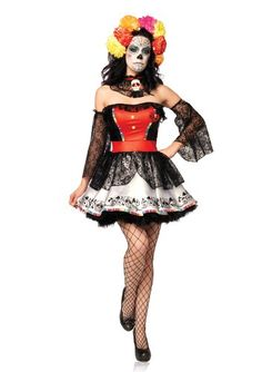 Are you looking for costume ideas for Halloween? Visit http://sugarskullcostume.com for ideas. I have just found some there.