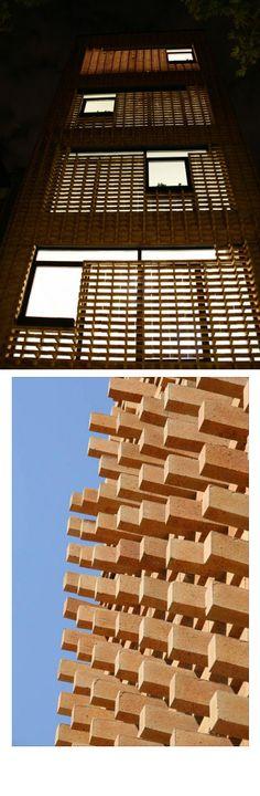 Brick Pattern House / Alireza Mashhadmirza / Iran / 2011
