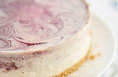 Blueberry Yoghurt Cheesecake