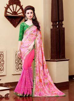Indian Sari Partywear Dress Designer Wedding Bollywood Pakistani Saree Ethnic