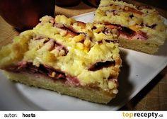 Křehký koláč s nektarinkami recept - TopRecepty.cz