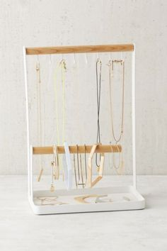 Minimal Tabletop Jewelry Stand//urban outfitters