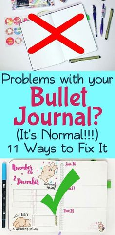 There are many reasons that people struggle with bullet journals. Whether you have complicated layouts, trouble finding inspiration, or lack motivation, this post explores the most common pitfalls people have with their bujos. If you want to know how to start a bullet journal right, keep this article in mind to help prevent these common concerns. Make your bullet journal a happy place again! #bulletjournal #bulletjournalideas #bujo #bujocommunity #planner