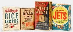 Cereals from the 50's