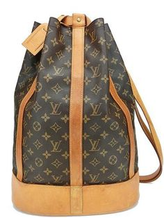 Authentic Louis Vuitton Randonnee GM Monogram Backpack Shoulder Bag 2519    eBay  bags  fashion 5873eba0765