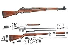 M1 Garand - I don't know why but, I want one of these. Historical factor I guess.