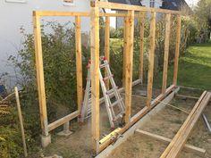 Popular Bau eines Holzlagers